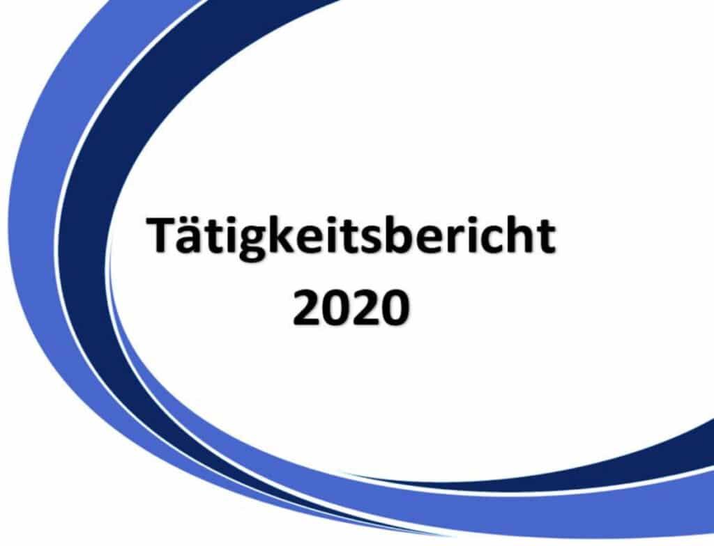 Tätigkeitsbericht 2020